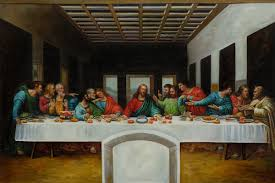the last supper leonardo da vinci painting