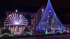Pasadena Christmas Lights Green Tee Terrace Pearland Christmas Lights Bigit