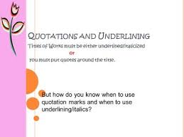 """Book Titles In Quotes Classy Punctuating Titles Italics Or €�Quotes"""" Ppt Download"""