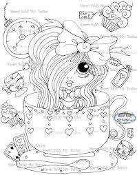 Small Picture 103 best Sherri Baldy images on Pinterest Big eyes Digi stamps