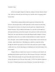 antigone the oedipus plays documents course hero antigone essay