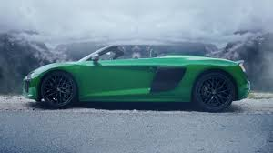 Der Audi R8 Spyder V10 plus - YouTube