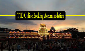 Ttd Online Darshan Tickets Availability Chart Ttd Online Booking Accommodation Advance Booking Facility In