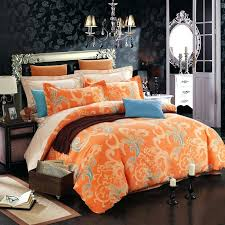 orange and white comforter c beige and blue abstract design luxurious tribal regarding orange duvet cover orange and white comforter