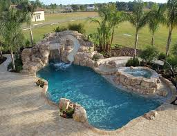 backyard pool with slides. Modren Pool 309 Best Pools Images On Pinterest Rock Pool Slides For Inground For Backyard With I