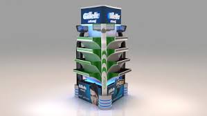 Product Display Stands For Exhibitions Gillette Product Display 100D 100 1005 Innovative 100D Exhibition Designs 41