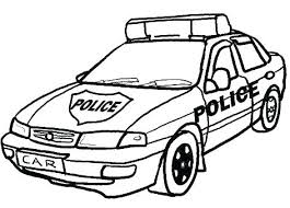 Police Coloring Pages Books Policeman Officer To Print Policema