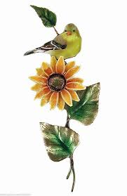 sunflower metal wall decor sculpture