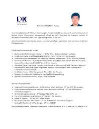 trainer s profile quantity surveying solutions trainer s profile