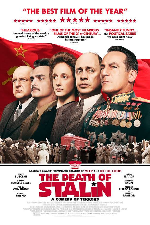 Download The Death of Stalin (2017) {English With Subtitles} BluRay 480p | 720p