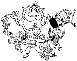 The Loud House Coloring Pages Color Bros