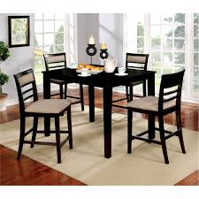 counter height folding table folding table and chair sets dining elegant mid century od 49