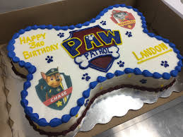 Paw Patrol sheet cake for a sweet child birthday specialty