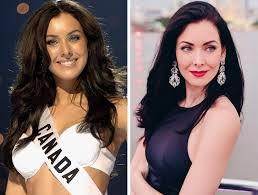 Ontario eyaletinden lauren howe etkinliğin sonunda güney ontario marta stepien'i ödüllendirdi. Miss Universe Winners Then And Now In 2018 Natural Beauty Is Timeless