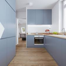 Blue Kitchen Cabinets Blue Kitchen Cabinets Interior Design Ideas