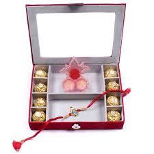 rakhi gifts to hyderabad india box with chocolates rakhis br 019 sr8f