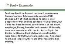 essay smoke argumentative essay smoke