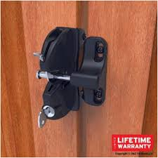 security locking fence gate latch