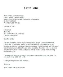 Cover Letter Business Sample Introduction Letter For Business Proposal Awesome Business