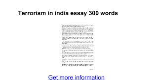 terrorism in essay words google docs