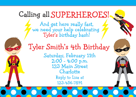 superheroes party invites birthday invitations superhero custom invitation template design