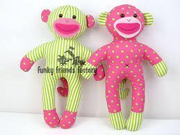 Sock Monkey Pattern Simple How To Sew A NO SOCK Sock Monkey
