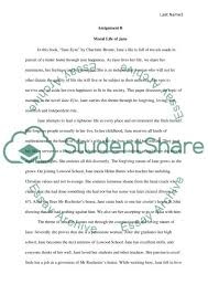jane eyre theme essay book report review example topics and text