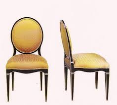 this chair is an adaptation of the parisian art deco style furniture in the 1930sa stylish trend setter art deco era furniture