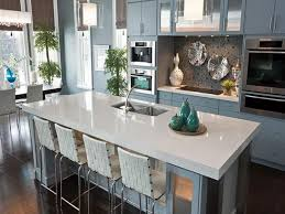 nett white stone kitchen countertops shiny quartz mid century modern in a with bar stools