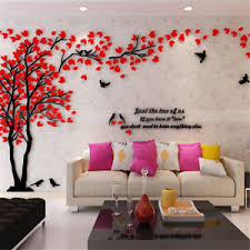 image is loading 3d tree wall art stickers removable vinyl decal  on wall art stickers tree with 3d tree wall art stickers removable vinyl decal mural tv background