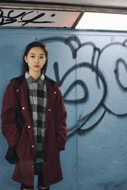 Siyuan Xu - Stussy Deep Red Jacket - Spanish sahara | LOOKBOOK