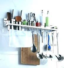 cooking utensil holder kitchen utensil wall rack wall mounted utensil holder kitchen utensils holder stainless steel