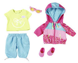 BABY born® Play\u0026Fun Deluxe Biker Outfit Clothing