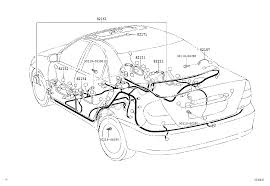 Wiring & cl doorrooffloor illust no 4 of 8 0208 gcc toyota camry acv36mcv36 asia and middle east sc 1 st toyota 7zap