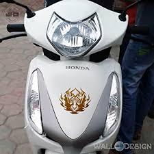 WallDesign <b>Bike Body</b> Stickers Feel The Power of Tiger - Copper ...