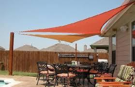 shade sails patio backyard shade