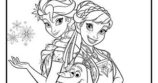Anna And Elsa Christmas Coloring Page Free Coloring Pages