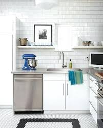 modern kitchens in white view in gallery stainless steel and white subway tile in a modern modern kitchens in white