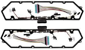 cover gasket w fuel injector glow plug harness 7.3 injector harness problems at 7 3 Powerstroke Injector Wiring Harness