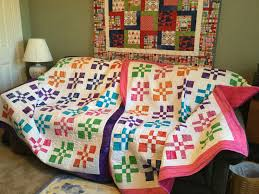 """Disappearing Four Patch"""" quilt   abyquilts & Cindy's """"Disappearing Four Patch"""" Quilts Adamdwight.com"""