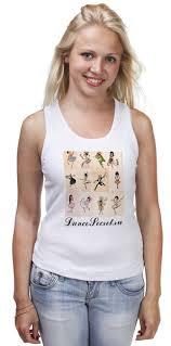 """Майка классическая """"DanceSecret 8"""" #642544 от Илья Кузнецов ..."""