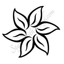 Small Picture Easy Drawing Flower Designs Easy Flower Designs To Draw Clipart