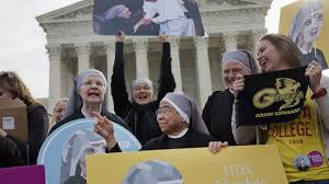 Donald Trump Birth Control Plan Nuns Are Battling Birth Control Provision At The Us Supreme Court