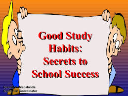 study habits for children