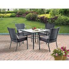 5pcs patio garden dining furniture set