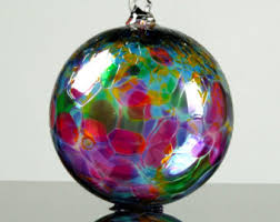 Party Mix, Hand Blown Glass Ornament
