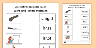 As of today we have 77,408,862 ebooks for you to download for free. Kn Grapheme Phase 5 Alternative Spellings Word And Picture Matching Worksheet