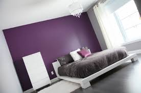 Delighful Bedroom Colors Grey Purple And Ideas E In