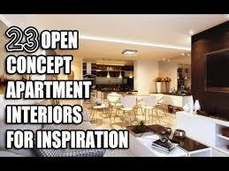 23 open concept apartment interiors for