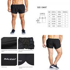 Baleaf Mens Quick Dry Lightweight Pace Running Shorts